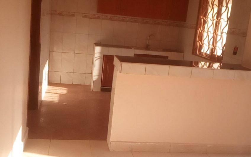 Brand new self contained double room at 500000 in Kirinya along Bukasa Road .