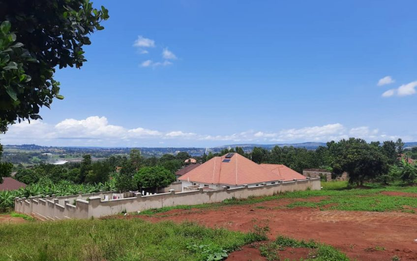 100FT BY 120FT RESIDENTIAL LAND FOR SALE ON THE HILL IN NJERU.